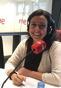 La periodista Laura Pardo en RNE