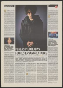 Entrevista a The Cure por Laura Pardo